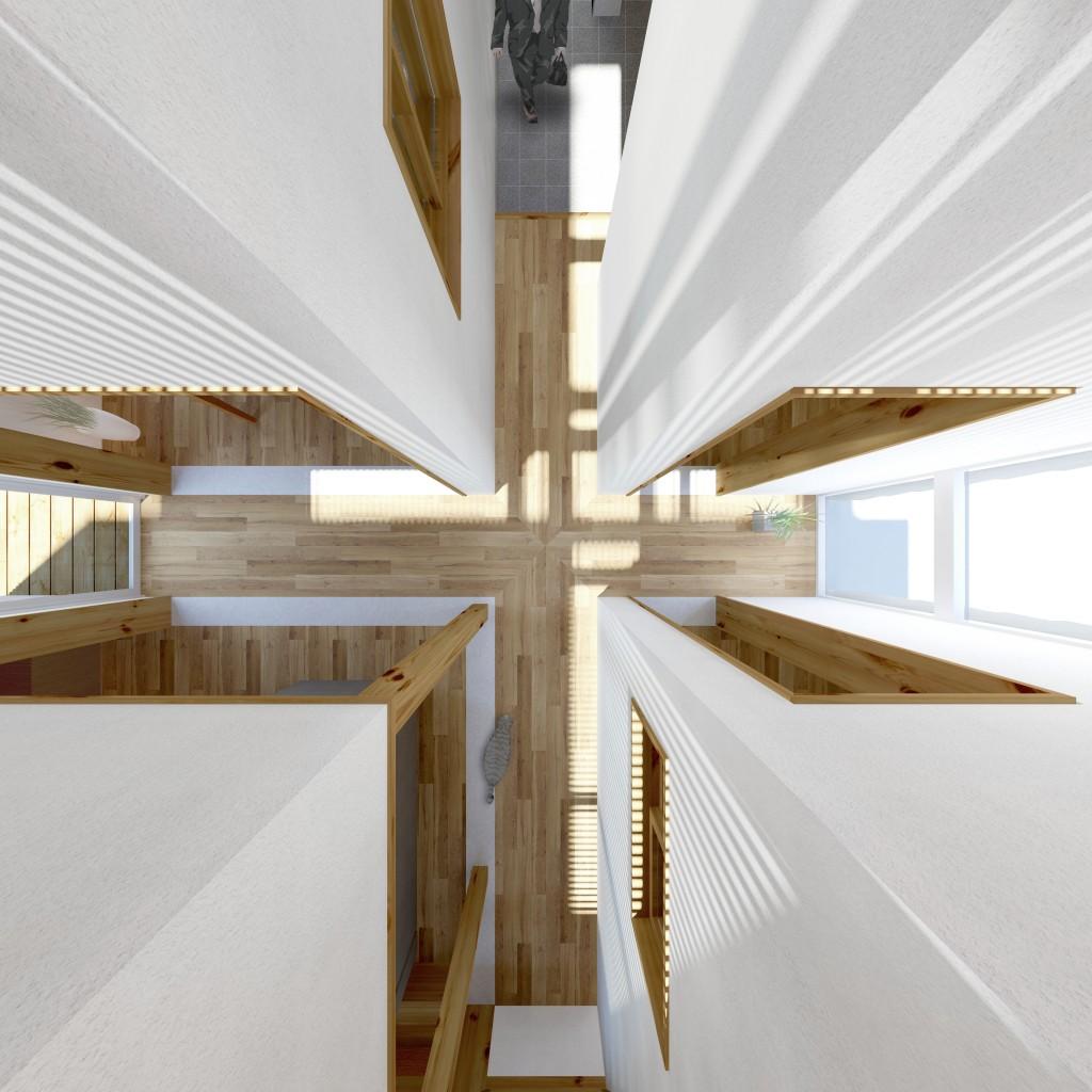 光の十字廊